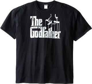 American Classics Men's Big-Tall The Godfather Movie Logo T-Shirt