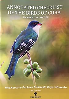 Annotated Checklist of The Birds of Cuba