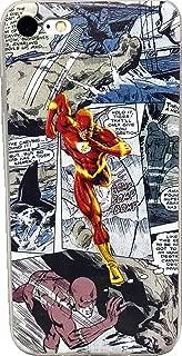 ECHC TPU Flexible Comic Book Superhero Case Compatible for iPhone (Flash, 7 and 8)