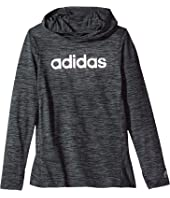 adidas Kids - Space Dyed Melange Hoodie (Big Kids)