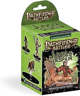 Jungle of Despair Booster Miniature Pathfinder Battles, 1 Large Miniatures and 3 Medium/Small Miniatures