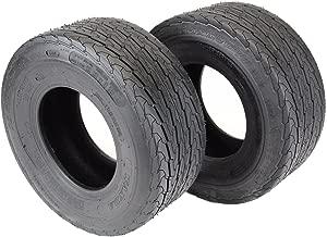 Wanda Set of 2-16.5x6.50-8 LRB 4 Ply Trailer Tires