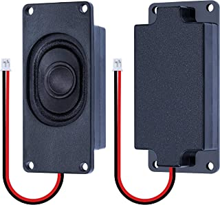 CQRobot Speaker 3 Watt 8 Ohm for Arduino, JST-PH2.0 Interface. It is Ideal for a Variety of Small Electronic Projects.
