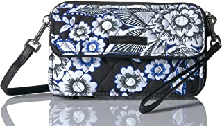 Women's Signature Cotton RFID All in One Crossbody Wristlet