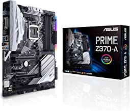 ASUS PRIME Z370-A LGA1151 DDR4 DP HDMI DVI M.2 USB 3.1 Z370 ATX Motherboard with USB 3.1 for 8th Generation Intel Core Pro...