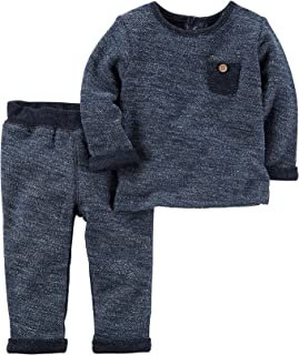 Carter's Baby Boys' 2 Piece French Terry Top and Pants Set