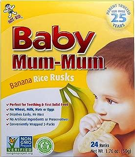 banana teething rusks