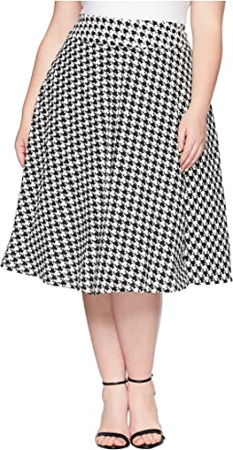 Plus Size Vivien Swing Skirt