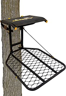 Muddy The Boss Hang-On Treestand- Silent Straps, Flex-Tek Comfort Seating, Extra Wide Platform