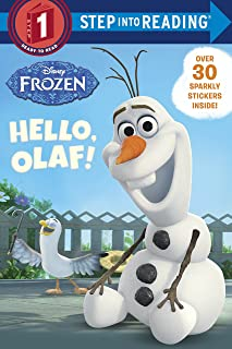 Step Into Reading Disney Frozen Hello, Olaf. Step 1 by Andrea Posner-Sanchez - Paperback