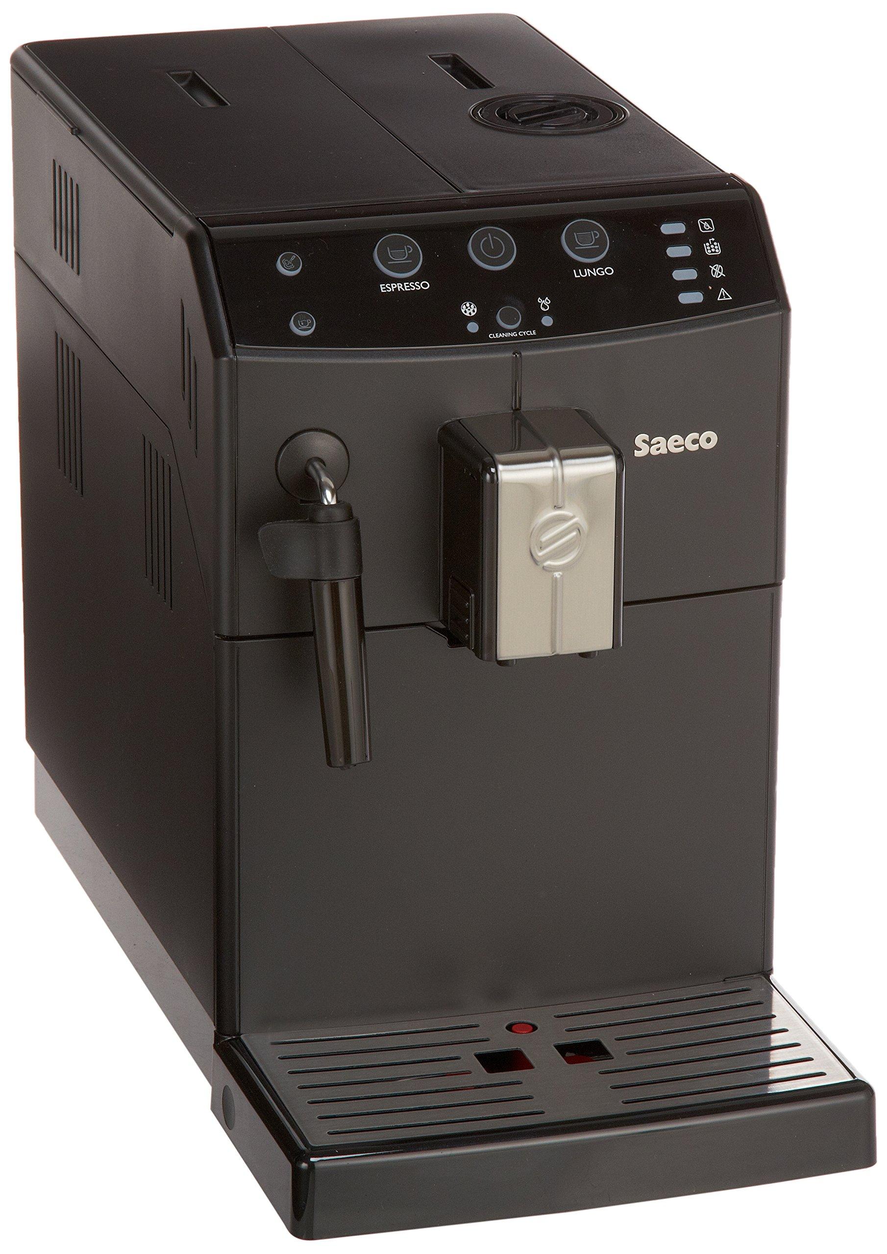 Saeco Minuto HD8765/47 - Cafetera (Independiente, Máquina espresso, 1,8 L, Molinillo integrado, 1850 W, Negro): Amazon.es: Hogar