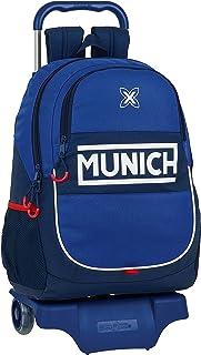 612074313 Mochila Escolar con Carro de Munich Retro, 330x150x430mm
