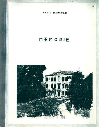 Mario Marcozzi - MEMORIE