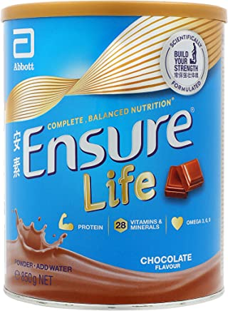 Abbott Ensure Life Nutrition Powder - Chocolate 850g, Chocolate,  850 g