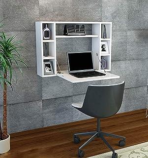 Bravo Melamine Desk - White, 60H x 90W x 76D cm