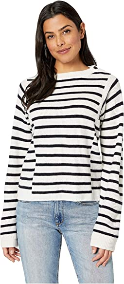 Mixed Stripe Pullover Sweater