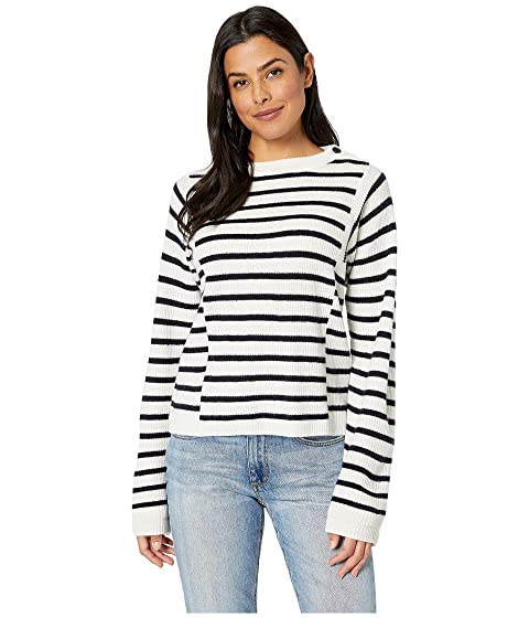 Vince Mixed Stripe Pullover Sweater