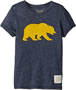 The Original Retro Brand Kids Cal Bear Mocktwist Tee (Little Kids/Big Kids)