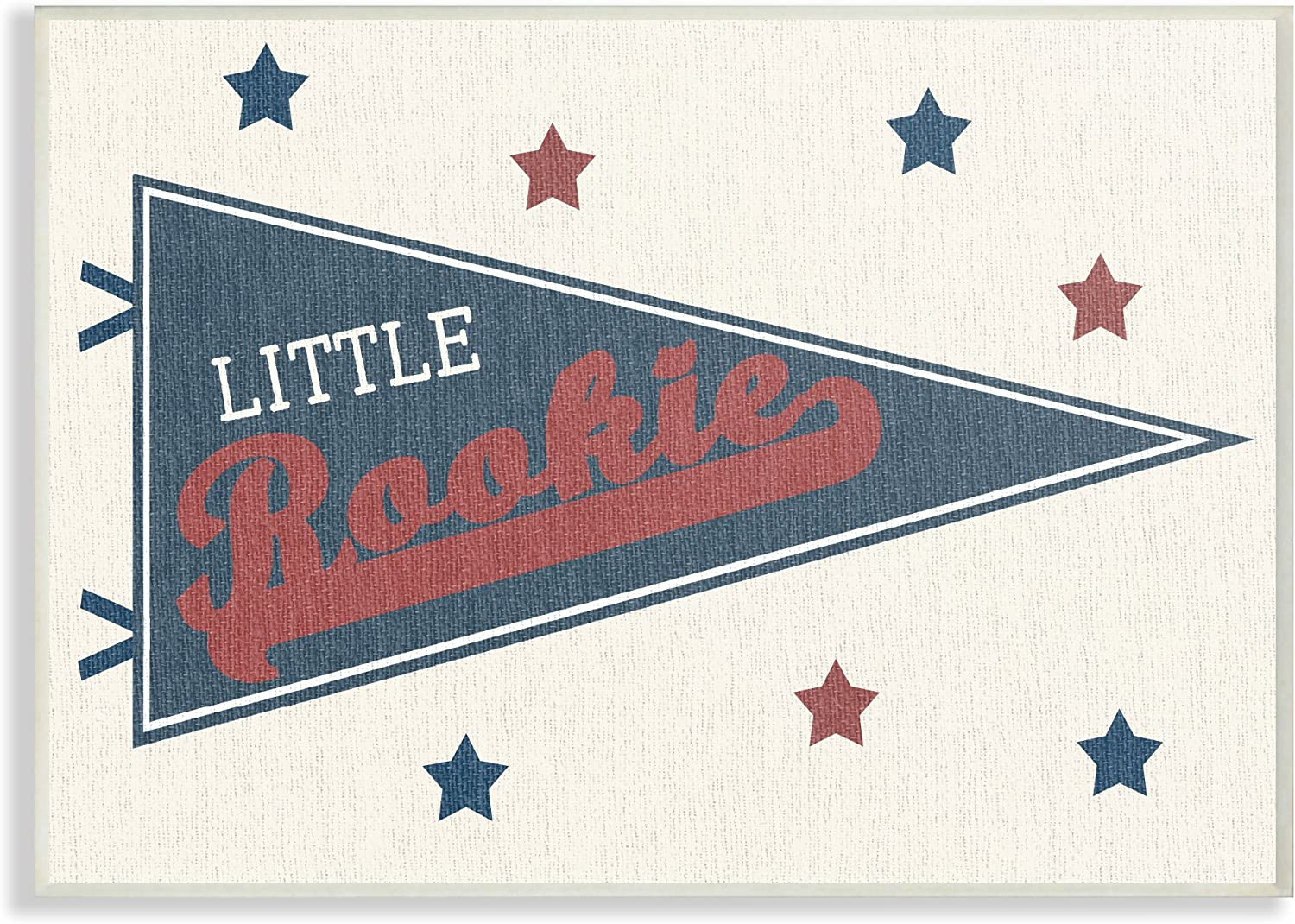 The Special price for a limited time Kids Be super welcome Room By Stupell Little Oversized Pennant Pl Rookie Wall