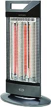 Argoclima Ambient Calefactor halógeno, 1000 W, Aluminio, Negro y gris