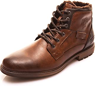 5c461351d37 FREE Shipping on eligible orders. XPER Men s Brown Fashion Lace up  Motorcycle Combat Winter Ankle Boots Causal Men Boots