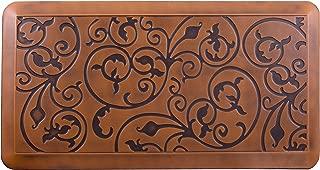 Amcomfy Premium Kitchen Anti Fatigue Mat, Non Slip Comfort Floor Mats, Standing Mats, (20 x 39 x 3/4 Inches, antique light)