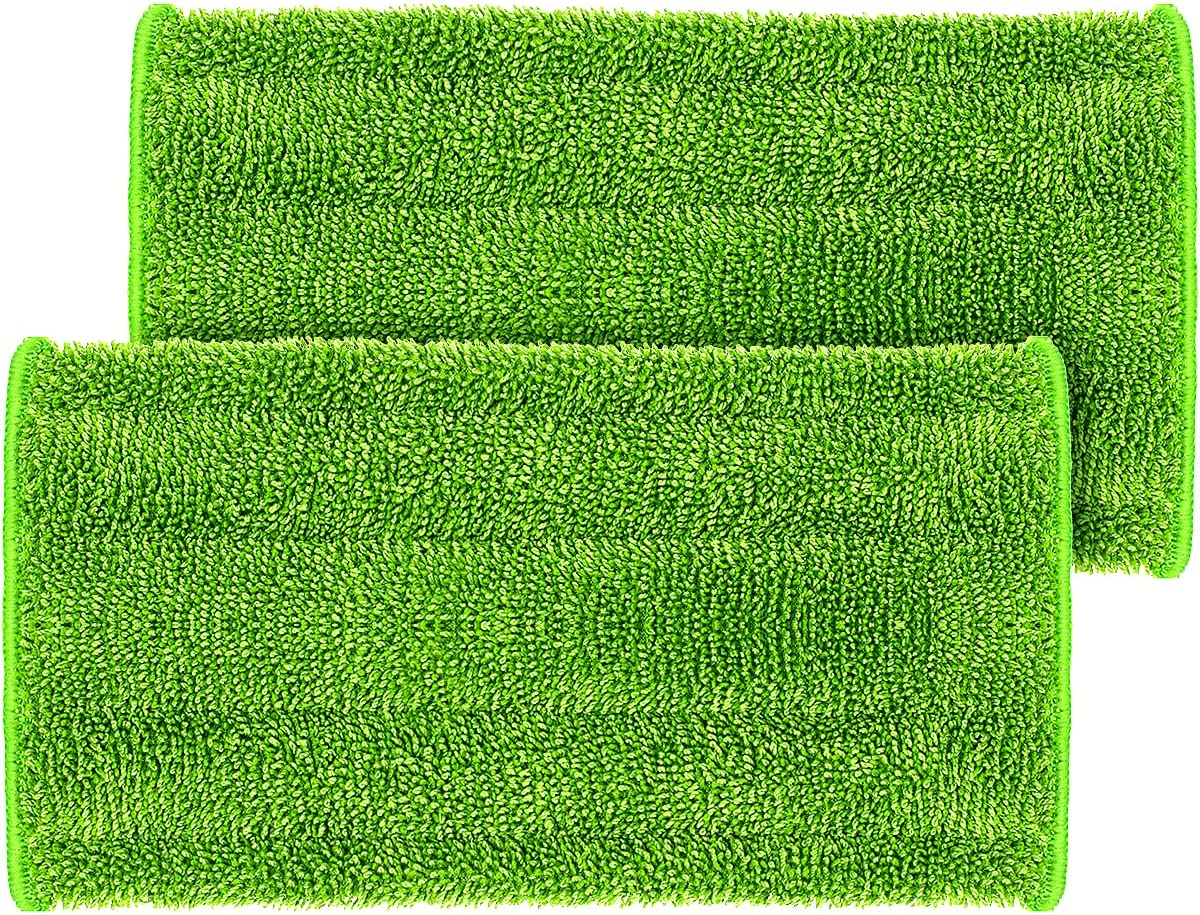 Microfiber Reusable Mop Pads 70% OFF Outlet Kansas City Mall Compatible Wash with Wetjet Swiffer