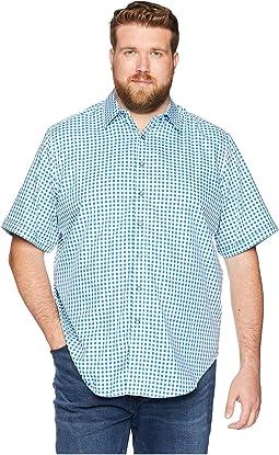 Big & Tall Morales Short Sleeve Woven Shirt