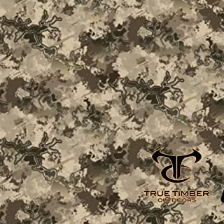 Viper Western 50% True Timber Camo Hydrographic Water Transfer Film Hydro Dipping Dip Demon Wizard Ape