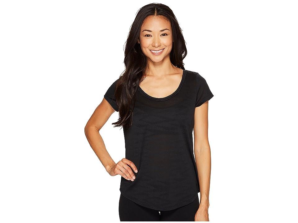 Mountain Hardwear Breeze AC Short Sleeve Shirt (Black) Women