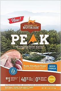 Rachael Ray Nutrish Peak Rustic Woodlands Recipe with Chicken, Turkey & Duck (Indoor Formula), 3-lb Bag