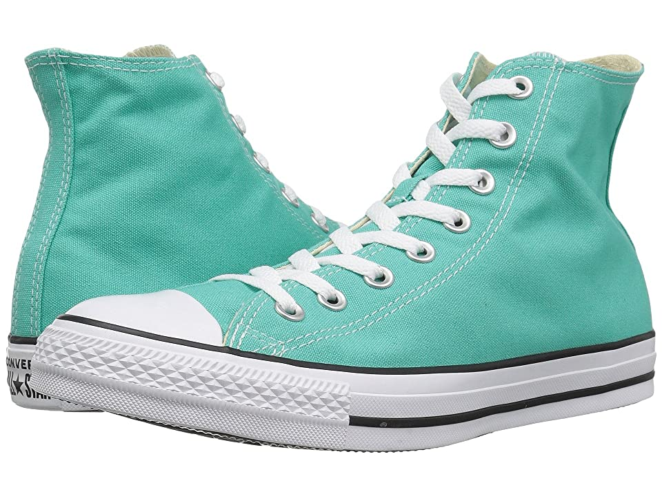 Converse Chuck Taylor(r) All Star(r) Seasonal Color Hi (Pure Teal) Lace up casual Shoes