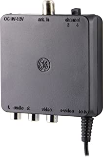 GE Pro Series RF Modulator with S-Video, 38806