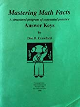 MASTERING MATH FACTS: A STRUCTURED OF SEQUENTIAL PRACTICE ANSWER KEYS