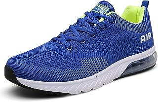 Mishansha Womens Mens Breathable Air Cushion Slip on Sports Trail Running Shoes