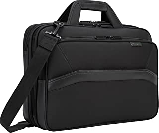Targus Spruce EcoSmart Checkpoint-Friendly Laptop Bag for 15.6-Inch Laptops, Black (TBT256)