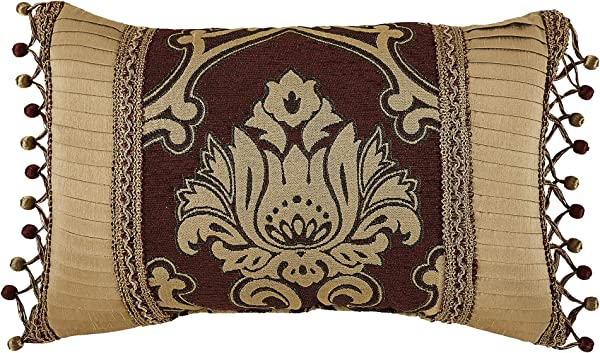 Croscill Gianna Decorative Pillow Red