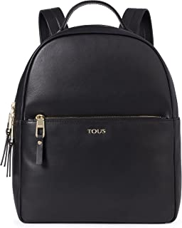 Tous Mochila Higgins, Womens Backpack Handbag, Black (Negro)