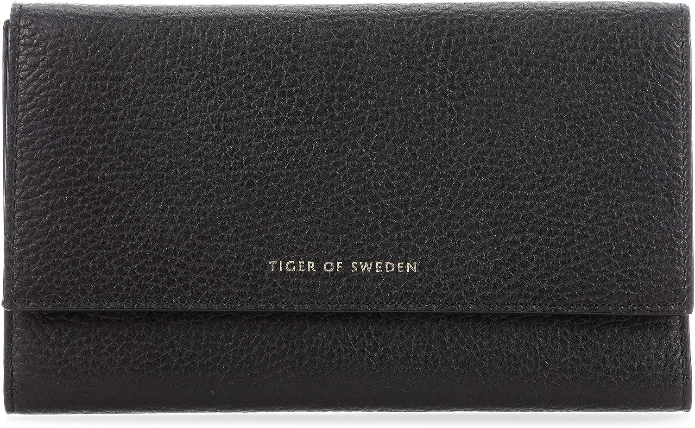 Tiger of Sweden Wikas Wikas Wikas Geldbörse schwarz B07PFJZMGS d279aa