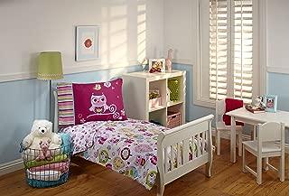 Everything Kids Toddler Bedding Set, Hoot Hoot
