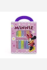 Disney Minnie Mouse - My First Library Board Book Block 12-Book Set - Great for Teaching First Words - PI Kids Board book