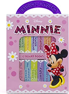Disney Minnie Mouse - 12 Board Book Block My First Library - PI Kids