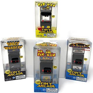 Tiny Arcade Games Boxed Set of 4 - Pac-Man - Galaxian - Space Invaders - Ms Pac-Man