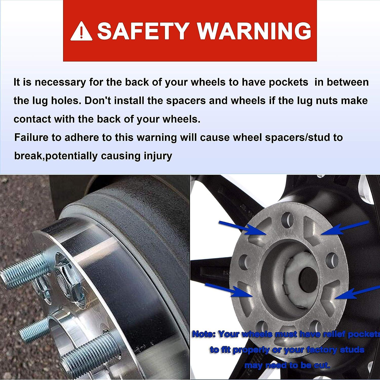 Wheel Accessories & Parts Richeer 1.25 inch Wheel Spacer 6x135mm ...