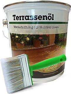 Faxe   Terrassenöl   Aktions-Set inkl. Ölpinsel Farbe Natur