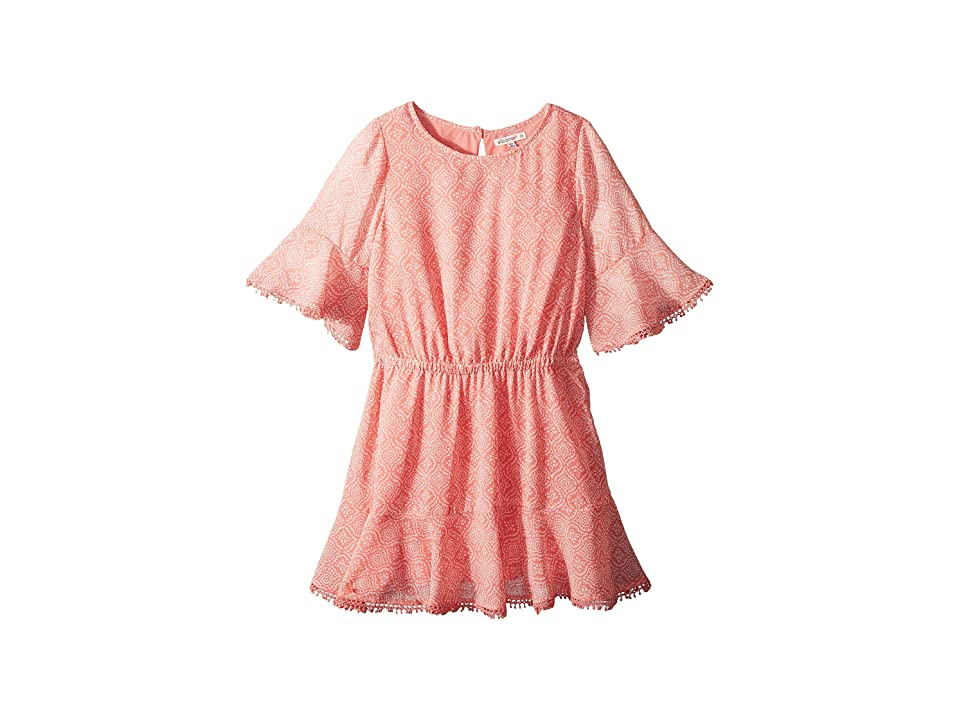 Ella Moss Girl Flounce Chiffon Dress (Big Kids) (Float) Girl