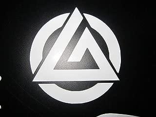 Gracie Jiu Jitsu triangle Vinyl decal sticker