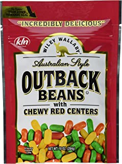 Kenny's Wiley Wallaby Outback Beans, Red, 10 Count (Pack of 10)