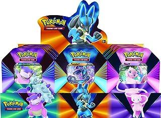 Pokémon TCG: V Forces Tin - Lucario V, Galarian Slowbro V or Mew V (one at random), mixed colours, POK80840-D6