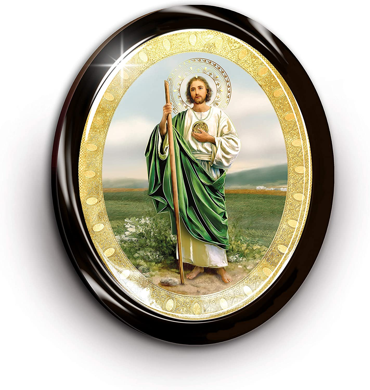 Framed Saint Jude Tadeo Gold Foil (9